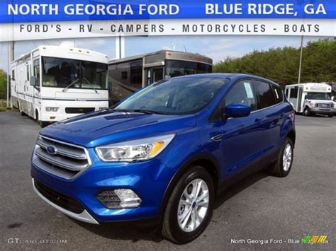 2017 lightning blue ford escape se 4wd 112608692 gtcarlot car color galleries