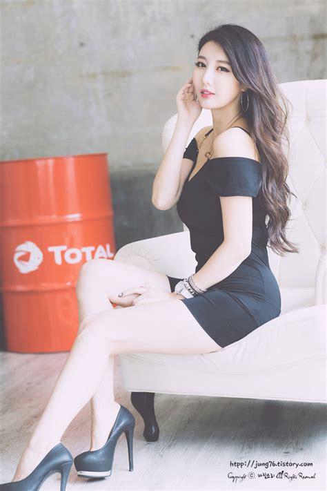 Ha Black shin se ha black mini dress