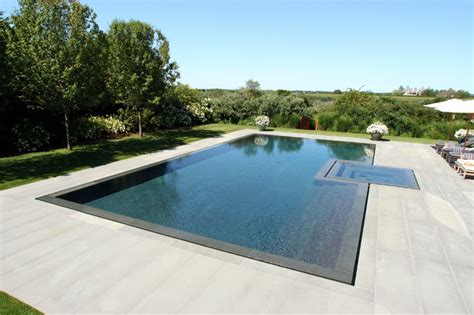 contemporary pools infinity edge negative edge rimless pools contemporary