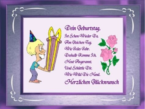 Lustige Geburtstagssprueche Zum 15 Geburtstag by Geburtstag Spr 252 Che Gedichte
