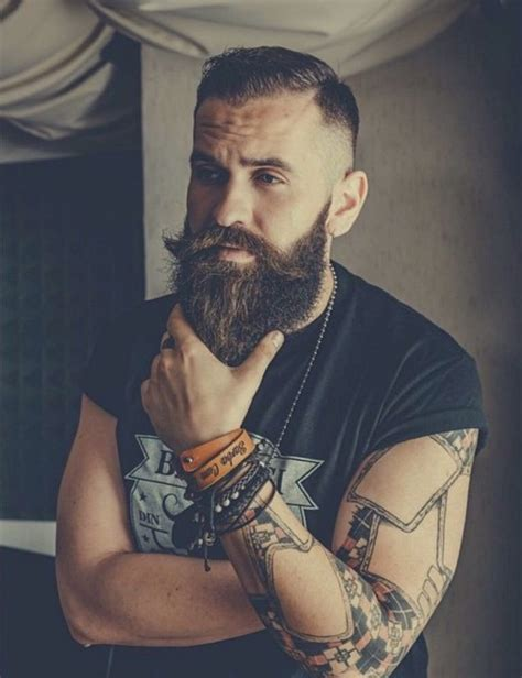 beard tattoo hashtags sexy arty manly hot beards pinterest beards