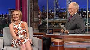 Lindsay Confirmed To Be In Rehab by Lindsay Lohan Is Reduced To Tears Tells David Letterman