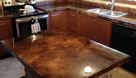concrete countertop colors how to acid staining concrete countertops directcolors
