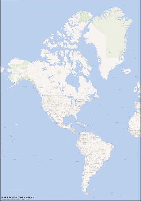 mapa politico de america imagenes america mapa politico mapa grande 3976x5660px peso