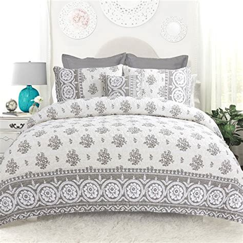 Rina Set driftaway drift away vintage inspired 4 rina floral reversible quilt set 100 cotton pre