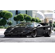Wildly Dreaming Sibal Slammed Wide Body Countach