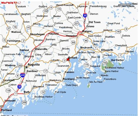 map of maine coast maine east coast map afputra