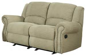 Reclining Sofa And Loveseat Homelegance Quinn Double Glider Reclining Loveseat In