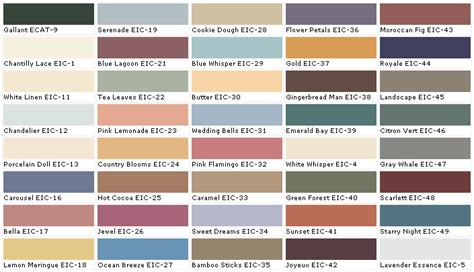 behr paint color chart behr paints behr colors behr