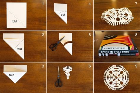 Hanging Paper Craft - made by joel 187 hanging paper snowflakes craft