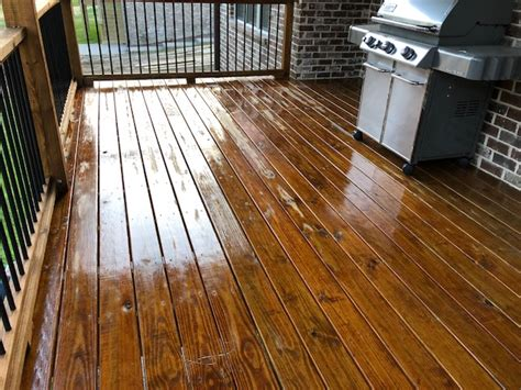 deck staining stain seal experts nashville deck