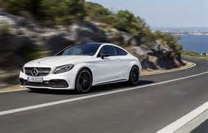 2017 mercedes amg c63 coupe roars with 4 0 liter biturbo