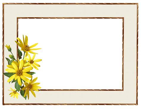 frame border yellow  photo  pixabay
