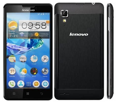 Handphone Lenovo P780 lenovo p780 with 5 inch hd display 4000 mah battery android 4 2 launched in india for rs 22529