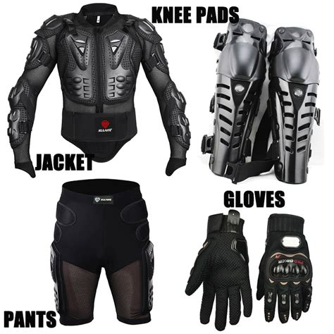 motorcycle protective jackets 4pcs motorcycle jackets racing motorcross body armor