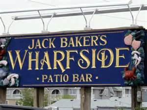 patio bar point pleasant new jersey halibut not bad picture of baker s wharfside