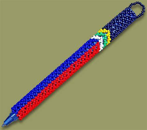 beaded pens beaded pens beaded pen sa flag 1