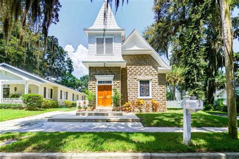 bright house brooksville former catholic church makes for an absolutely adorable abode realtor com 174