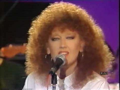 fiorella mannoia you tub fiorella mannoia bene caro live 1986 youtube
