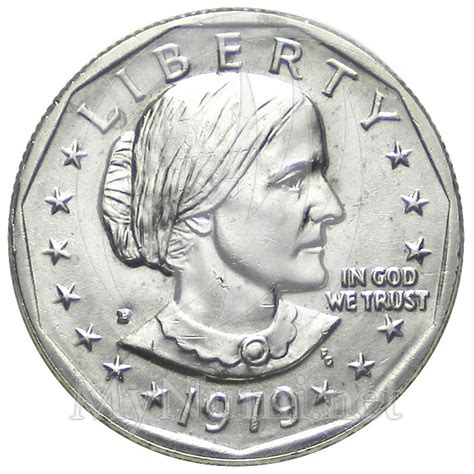 1979 1 dollar united states susan b anthony philadelphia p