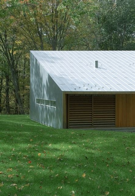 hill house modern garage and shed new york