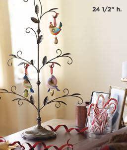 twelve days  christmas display tree hallmark ornament hooked  hallmark ornaments