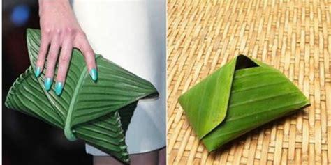daun pisang  ternyata tas super mewah dreamcoid