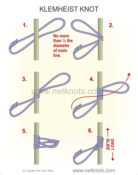 how to tie a knot for a rope swing klemheist how to tie a klemheist knot