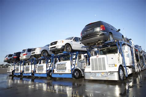 car carrier truck new york new york city auto transport