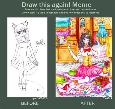 Meme Neko - draw this again meme neko s boutique by natzyr on deviantart