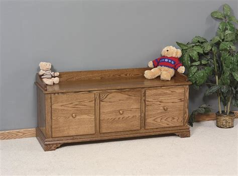 wooden storage bench with drawers amish storage bench with drawers