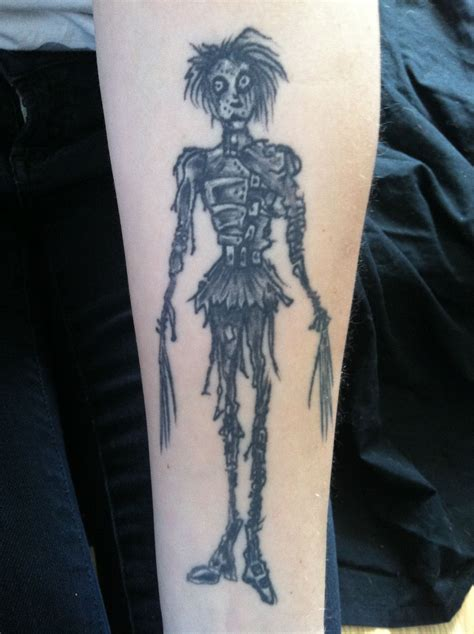 tim burton tattoo tim burton tattoos x