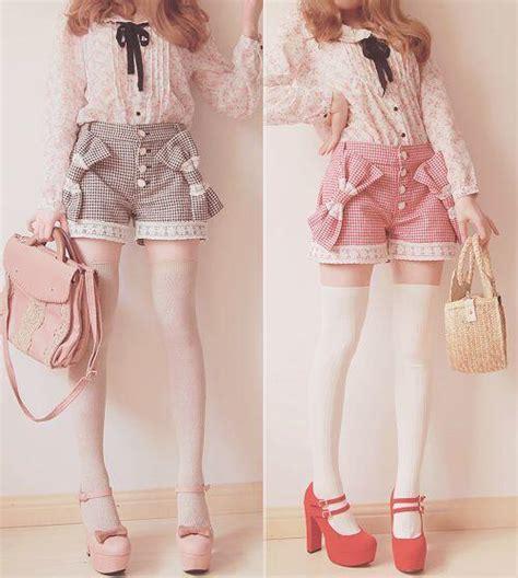 chance of clouds shorts 8 adorable paper bag shorts japanese sweet stockings 183 asian cute kawaii clothing