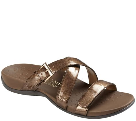 orthaheel sandals sale vionic by orthaheel orthotic slide sandals ebay