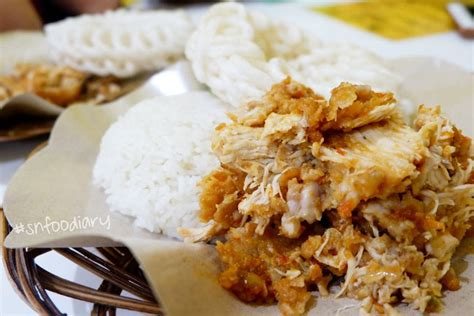kuliner ayam geprek  semarang  pedasnya mantap