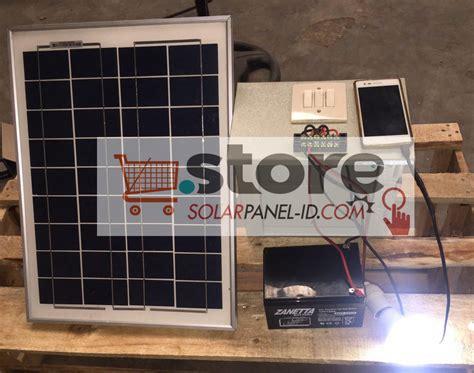 Paket Lu Taman Solar Cell 20wp paket shs 20wp untuk penerangan rumah tenaga surya