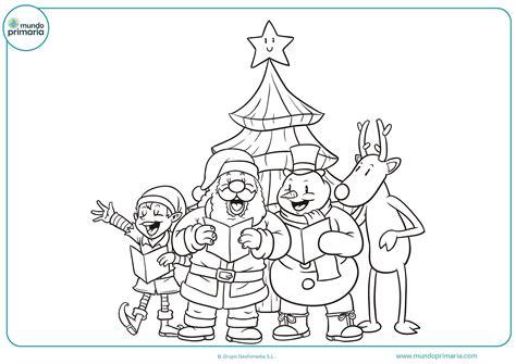 imagenes feliz navidad para colorear dibujos de navidad para colorear mundo primaria