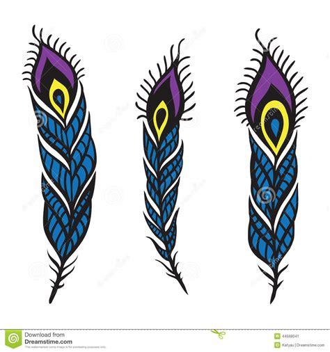 dibujo 233 tnico decorativo del pavo real blanco y negro sistema de la pluma del pavo real ilustraci 243 n del vector