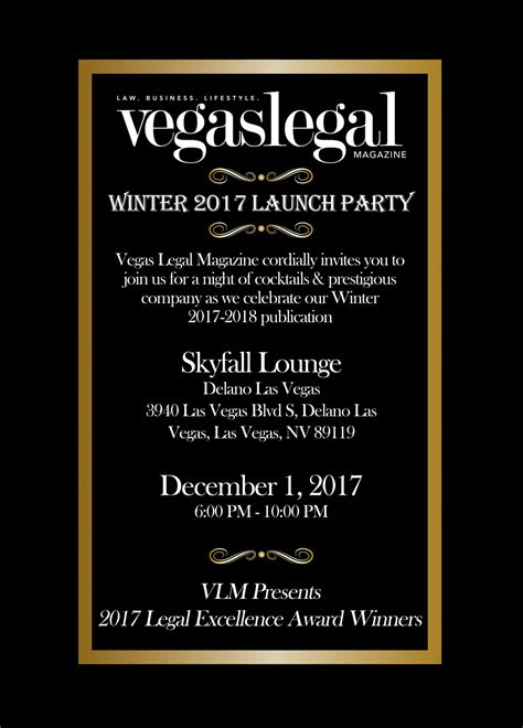 launch invitation templates winter 17 18 launch invitation vegas magazine