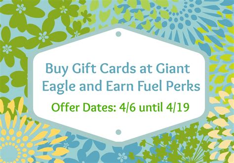 Giant Eagle Gift Cards Fuelperks - buy gift cards at giant eagle and earn fuel perks plus 50 visa gift card giveaway