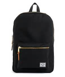 herschel supply black settlement backpack zumiez