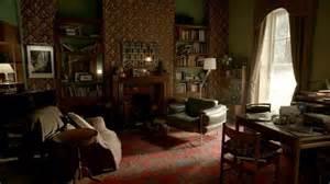sherlock apartment living in a tv set interior