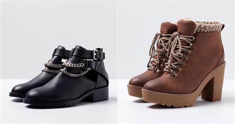 fotos zapatos invierno 2015 calzado bershka oto 241 o invierno 2014 2015