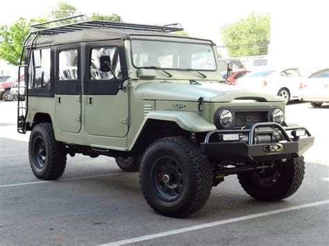 icon land cruiser cleanly designed overly built 1968 land cruiser fj44