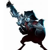 Rocket Raccoon PNG Transparent  Mart