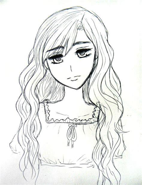anime hairstyles curly wavy hair by natsunohuyana on deviantart