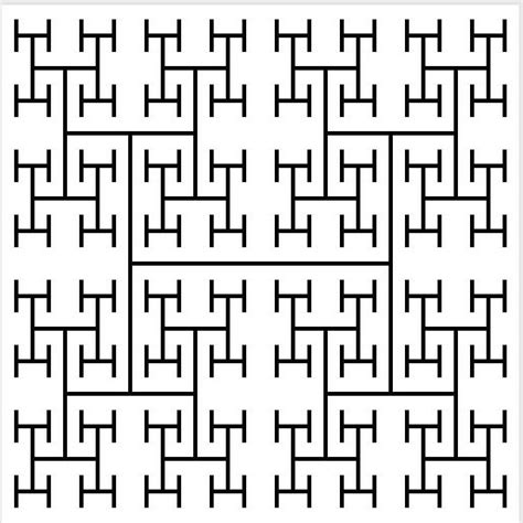 recursive pattern in math recursive graphics