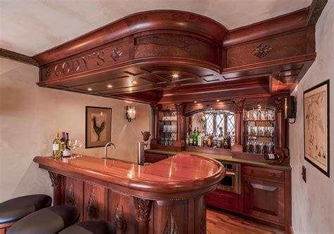 home pub decor style basement pub traditional home bar burlington by ober woodworking