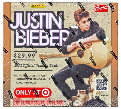 justin bieber cards 2012 panini justin bieber trading cards box 1 auto or