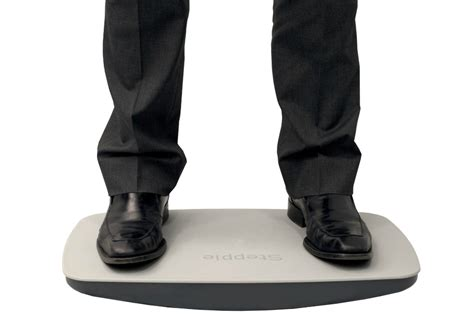 simply fit board standing desk steppie balance board review